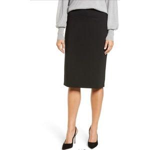 Halogen Black Pencil Skirt